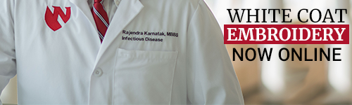 Lab Coat Embroidery banner