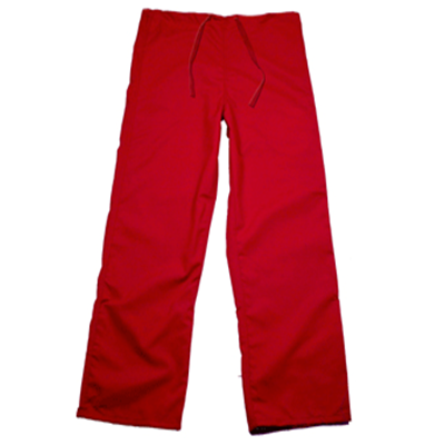 Red Scrub Pants, Drawstring, Tall (SKU 11115915162)