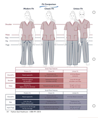 Red Scrub Pants, Drawstring, Tall