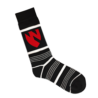 Emblem Dress Socks