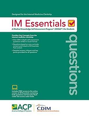 Im Essentials (mksap) | UNMC Bookstore