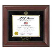 Diploma Frame, UNMC Seal