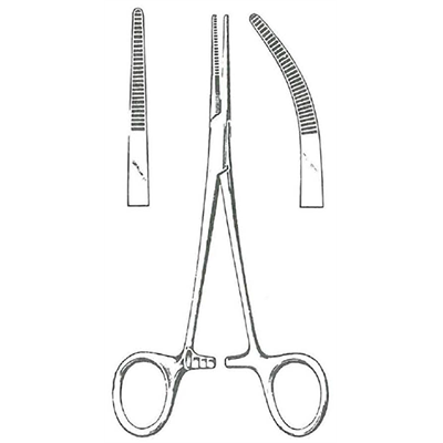 Hemostatic Forceps, Kelly (SKU 11143932163)