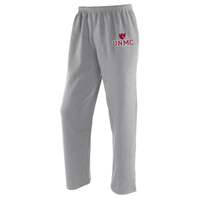 Open-Bottom Fleece Sweatpants