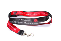 Black/Red Lanyard
