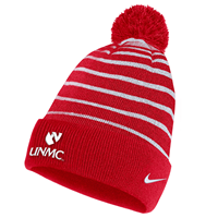 Nike Youth Stripe Pom Beanie