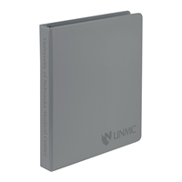 "Samsill 1"" View Gray Binder"