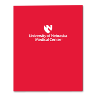 UNMC Emblem Pocket Folder